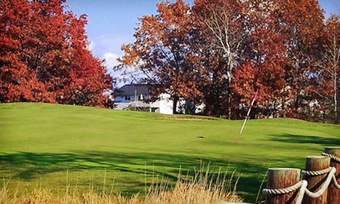 The Ponds Golf Course and Restaurant - Nowthen: $44 for an 18-Hole Round of Golf for Two with Cart at The Ponds Golf Course and Restaurant (Up to $102 Value)
