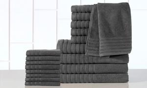 Casa Platino 18-piece Egyptian-cotton 600gsm Towel Set