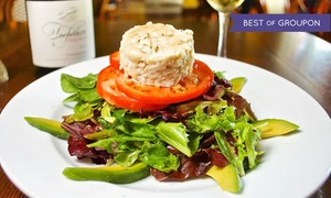 Cafe Monte: French Cuisine for Breakfast or Dinner at Cafe Monte (Up to 47% Off)