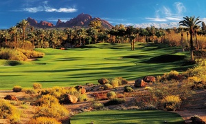 The Golf Club at The Phoenician: Round of Golf with Cart and Range Balls for One, Two, or Four at The Golf Club at The Phoenician (Up to 63% Off)