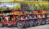Charlotte NC Tours - Uptown Charlotte: One-Hour Self-Guided Tour on a Three- or Five-Person Surrey Bike from Charlotte NC Tours (Half Off)