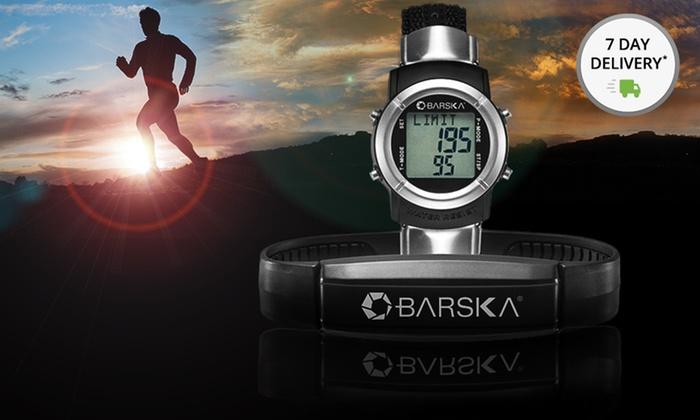 Barska Heart-Rate Monitor Watch (GB12166): Barska Heart-Rate Monitor Watch (GB12166). Free Returns.