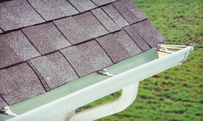 A Better View - Greenville: 100, 200, or 300 Linear Feet of Gutter-Debris Cleaning from A Better View (Up to 57% Off)