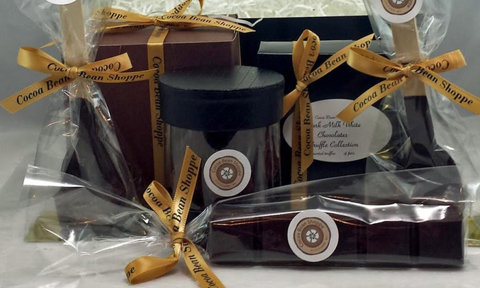 The Cocoa Bean Shoppe - The Cocoa Bean Shoppe: $29 for Chocolate Gift Box for Pick-Up or Shipping from The Cocoa Bean Shoppe($42 value)