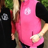 Up to 55% Off Monogrammed Fleece Vests