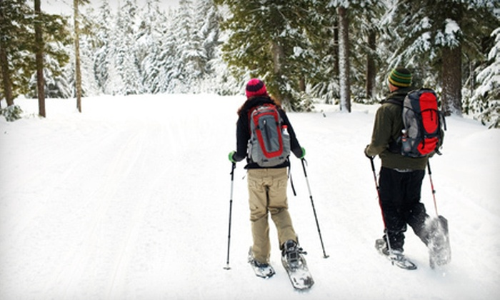 America's Stonehenge - Salem: Snowshoeing Outing for Two or Four at America's Stonehenge (Up to 55% Off)