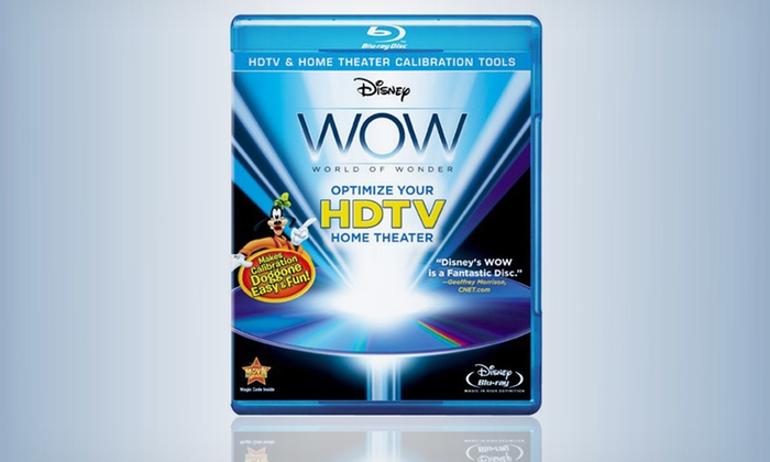 Disney WOW: World of Wonder Blu-ray: $9.99 for Disney WOW: World of Wonder on Blu-ray ($34.99 List Price). Free Returns.
