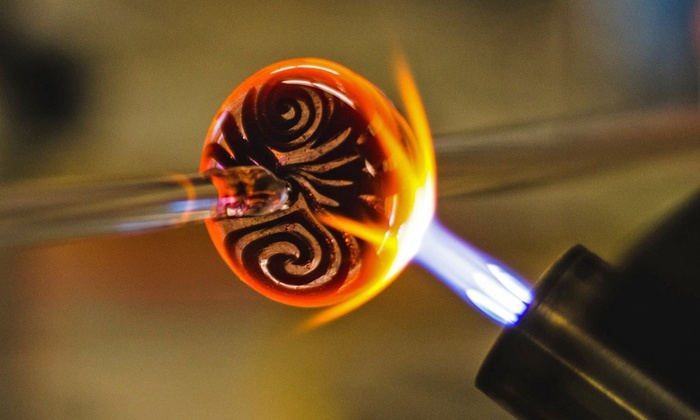 The Glass Park - The Glass Park: $149 for a Two-Hour Private Introduction to Glass Blowing Class for Two at The Glass Park ($300 Value)