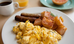Sparta Restaurant & Coffee Shop: Comfort Food for Breakfast or Lunch at Sparta Restaurant & Coffee Shop (36% Off). Two Options Available.