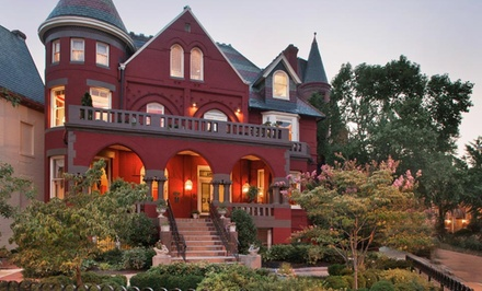 groupon daily deal - 1- or 2-Night Stay for Two at Swann House Historical Dupont Circle Inn in Washington, DC