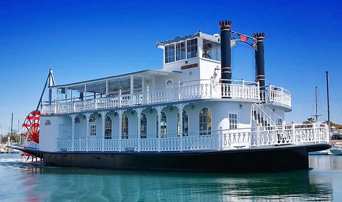 Scarlett Belle Cruises - Oxnard: Valentine's Brunch or Dinner Cruise for Two from Scarlett Belle Cruises (39% Off)