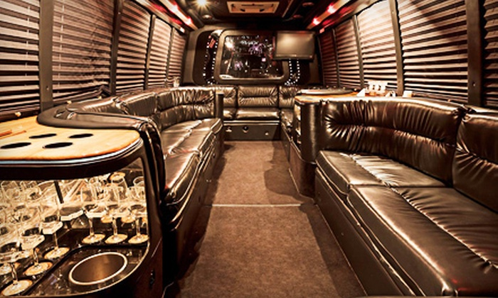 Columbia Party Bus - North Central Columbia: Two- or Four-Hour Party-Bus BYOB Ride for Up to 18 or 40 from Columbia Party Bus (Up to 61% Off)