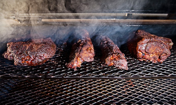 Driftwood BBQ - Girvin: Barbecue Lunch for Two or Catered Barbecue from Driftwood BBQ (Half Off)