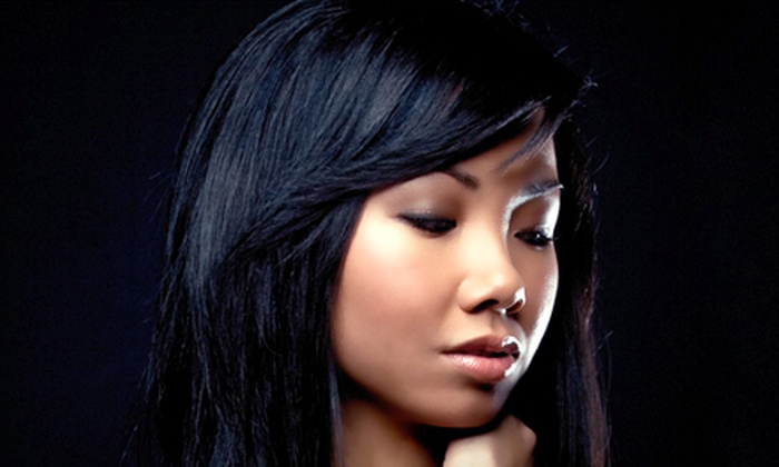 Havana Salon - Central Area: Haircut with Choice of Blow-Dry Style or Coloring Services at Havana Salon