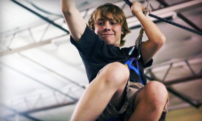 Group Dynamix - Southwest Carrollton: One Week of Youth Adventure Day Camp for One, Two, or Three at Group Dynamix in Carrollton (Up to 57% Off)