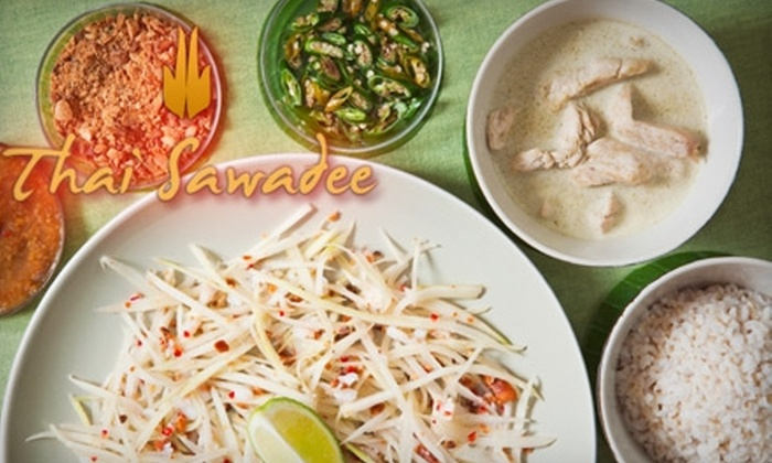 Thai Sawadee - Chesterfield: $15 for $35 Worth of Authentic Thai Dinner Fare or $6 for $12 Worth of Lunch Fare at Thai Sawadee in Chesterfield