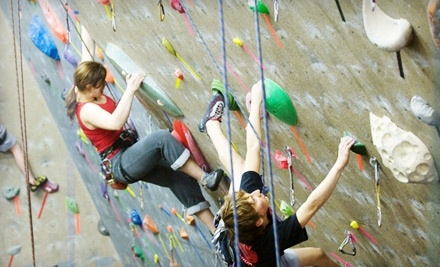 Boston Rock Gym: an Introductory Climbing Class and a 2-Week Membership - Boston Rock Gym in Woburn