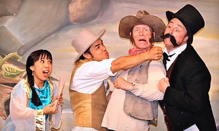 "The Off Broadway Theatre - Rio Grande: Two Tickets to ""Kung Fooey: A Spaghetti Western"" or Laughing Stock Improv Comedy at The Off Broadway Theatre"