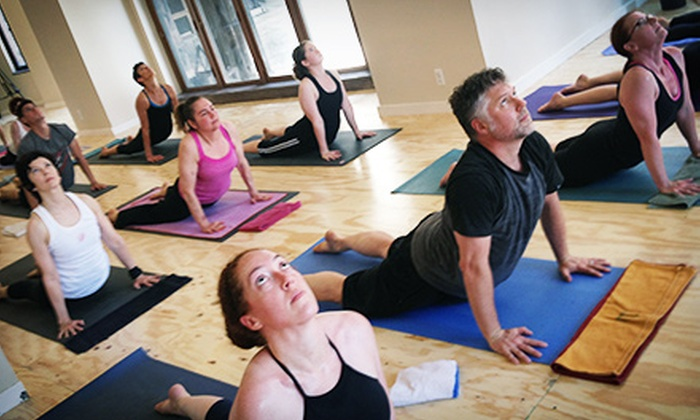 Detroit Yoga  - Multiple Locations: 8, 16, or 24 Classes at Detroit Yoga (Up to 76% Off)