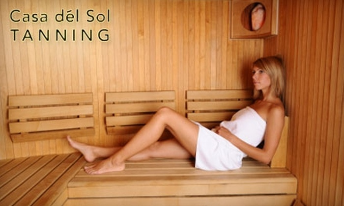 Casa Del Sol - Brevoort Park: $25 for $100 Worth of Tanning and Sauna Services at Casa Del Sol