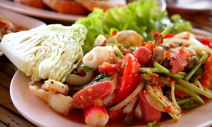 Thai Sweet Basil - Northdale: $15 for $30 Worth of Thai Cuisine and Drinks at Thai Sweet Basil
