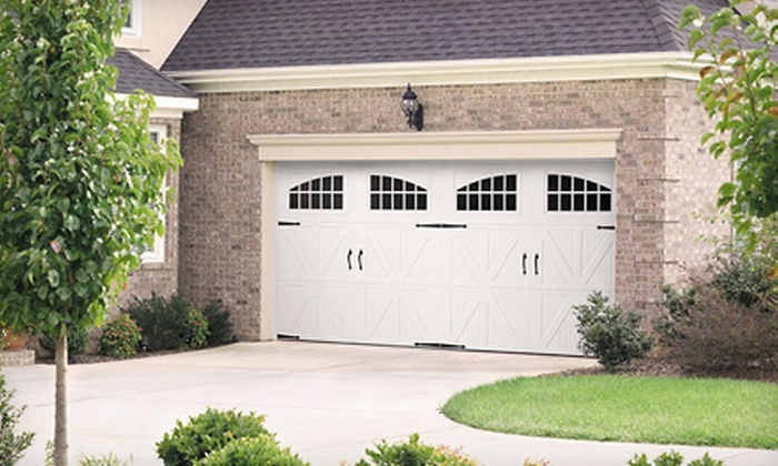 Aaron Overhead Door - Multiple Locations: $40 for a Garage-Door Service Call from Aaron Overhead Door ($89 Value)