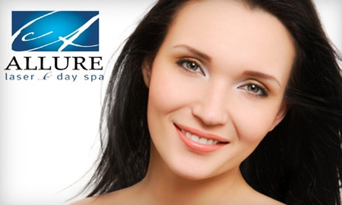 Allure Laser & Day Spa - Austin: $49 for a Microdermabrasion and ExcellaWave Treatment at Allure Laser & Day Spa in Round Rock ($125 Value)