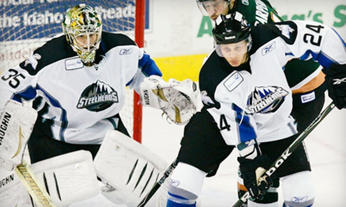 Idaho Steelheads - Downtown: Snack-Party Package or Luxury Suite for Up to 14 at Idaho Steelheads Hockey Game (Up to 62% Off). Two Games Available.