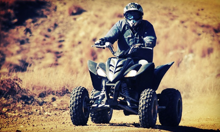 Dream Catcher Outdoor Recreational Rentals - Thurston: Eight-Hour Rental of Two ATVs from Dream Catcher Outdoor Recreational Rentals (Up to 60% Off). Two Options Available.