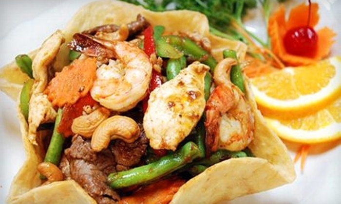 Siam Square - East Providence: $10 for $20 Worth of Thai Fare and Drinks at Siam Square in Riverside