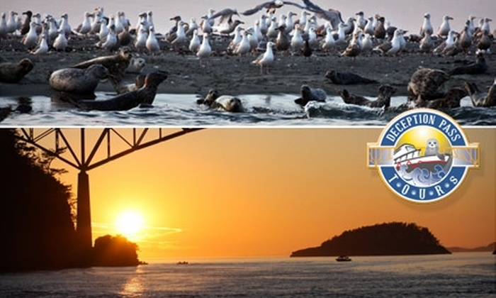 Deception Pass Tours - North Whidbey: $12 for a Deception Pass Jet-Boat Tour from Deception Pass Tours (Up to $25 Value)