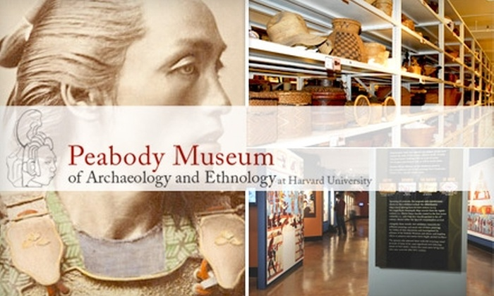 Peabody Museum of Archaeology and Ethnology - Aggasiz-Harvard University: $16 Admission for Up to Four People at Peabody Museum of Archaeology and Ethnology ($36 Value)
