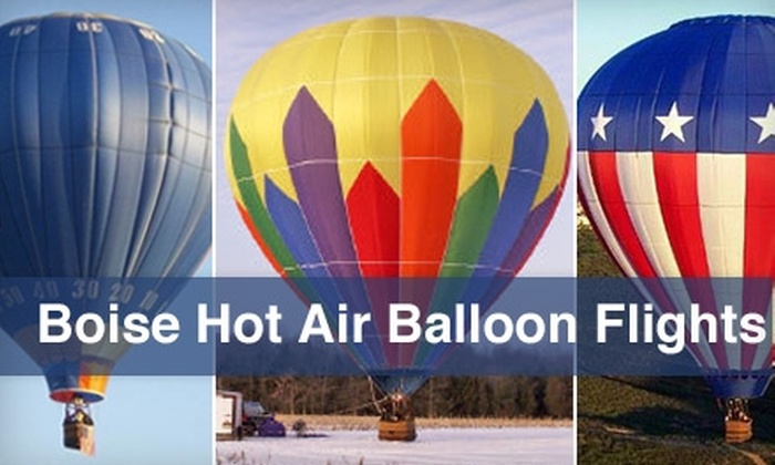 Boise Hot Air Company - Boise City: $98 for a Hot-Air Balloon Ride from Boise Hot Air Company ($200 Value)