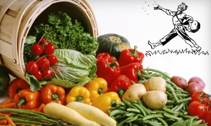 Johnny Appleseed's Organic Market - Santa Cruz / Monterey: $20 for a Selection of Produce Delivered to Your Home or Office from Johnny Appleseed's Organic Market ($45 Value)