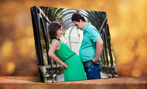 Custom Gallery-wrapped Canvas Print From Picture Canvas (up To 90% Off). Six Options Available.