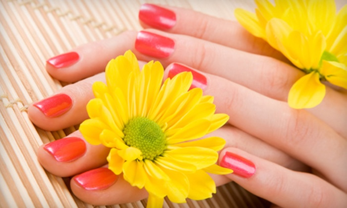 Nails by Hillary Fry - Downer Woods: One or Two Shellac Spa Manicures at Nails by Hillary Fry in Shorewood (Up to 57% Off)