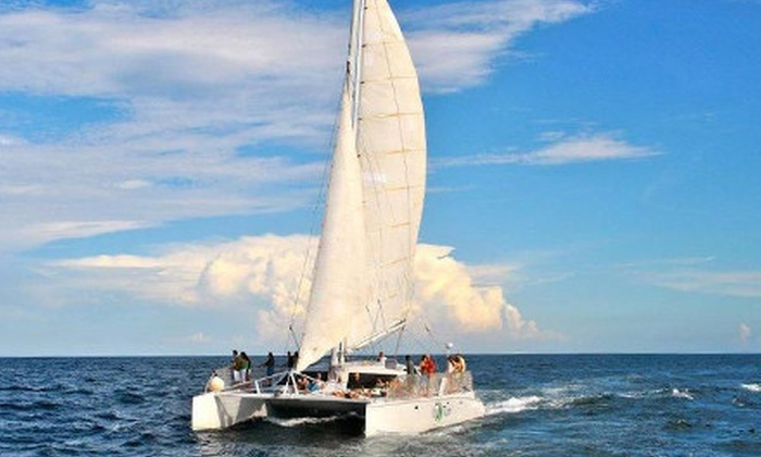 Palm Breeze Charters - Southeast Boca Raton: Yacht or Catamaran Cruise, or Catamaran Snorkel Sail for Two from Palm Breeze Charters in Boca Raton (Up to 61% Off)