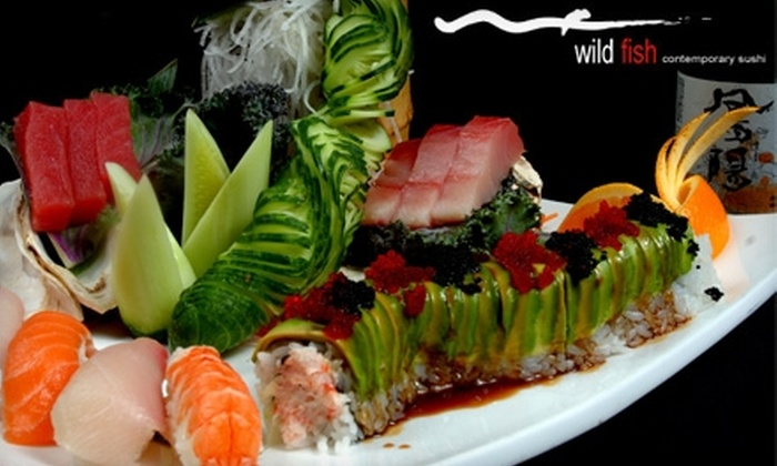Wildfish - Multiple Locations: $20 for $40 Worth of Sushi, Grilled Cuisine, and Drinks at Wildfish in Deerfield or Arlington Heights