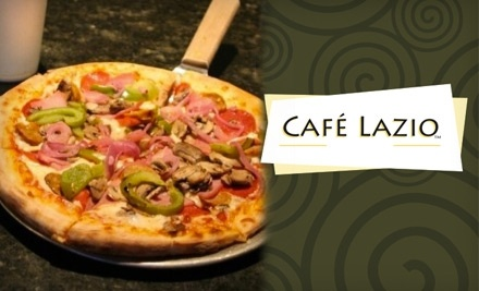 $20 Groupon to Cafe Lazio - Cafe Lazio in Hoover
