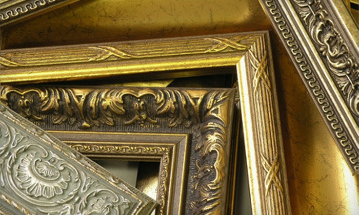 Frame Outlet - Picadome: Framing Services at Frame Outlet (Up to 67% Off). Two Options Available.