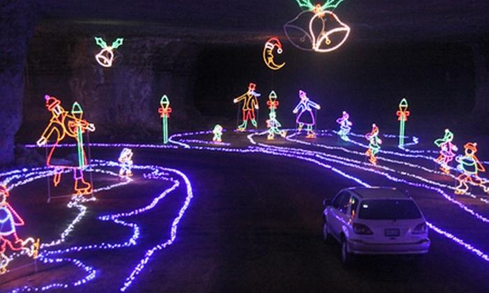 Louisville Mega Cavern - Poplar Level: $15 for an Admission to Lights Under Louisville at Louisville Mega Cavern ($25 Value)