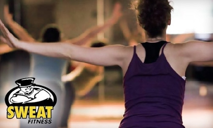 Sweat Fitness - Multiple Locations: $30 for a One-Month Membership and Two Personal-Training Sessions at Sweat Fitness ($205 Value)