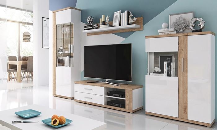 Woonkamer Meubel Set : Tot op amaral woonkamer meubelset groupon producten