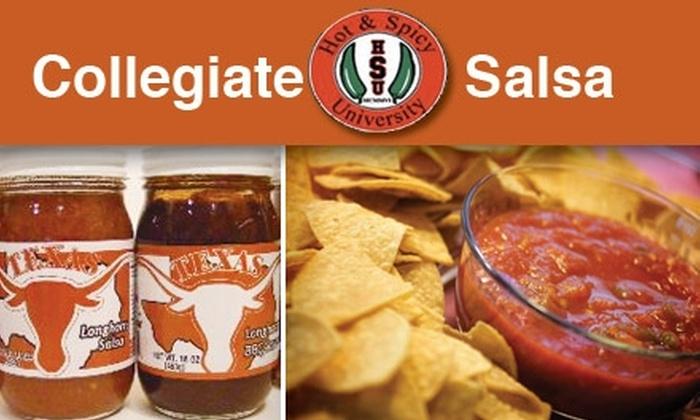 Collegiate Salsa - Old West Austin: $13 for a Three-Pack of Longhorn Salsa from Collegiate Salsa ($24 Value)