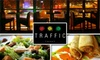 Traffic Restaurant & Bar - Midtown East: $20 for $40 Worth of Bar Eats and Drinks at Traffic Restaurant & Bar