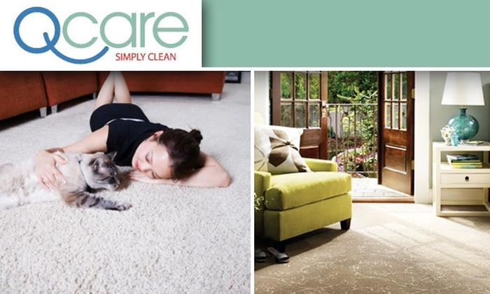 Q Care, INC - Atlanta: Two Rooms Premium Carpet-Cleaned or Residential Cleaning Services by QCare