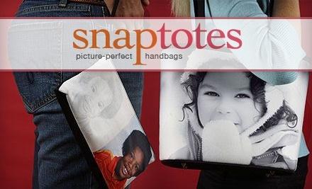 SnapTotes.com: Custom-Photo Beach Bag - SnapTotes.com in