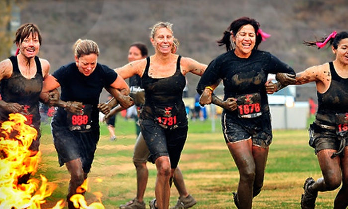 Gladiator Rock'n Run - Lake Morton-Berrydale: $55 for VIP Race-Entry Package to Gladiator Rock'n Run on October 29 at Pacific Raceways in Kent (Up to $115 Value)