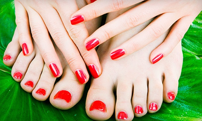 Ashlie Nails - Eagan: One or Three Basic or Shellac Manicures with Basic Pedicures at Ashlie Nails in Eagan (Up to 51% Off)
