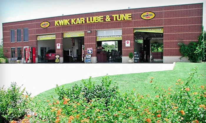 Kwik Kar of Crowley - Crowley Park South: Full-Service Oil Change or Oil Change and Tire Rotation at Kwik Kar of Crowley
